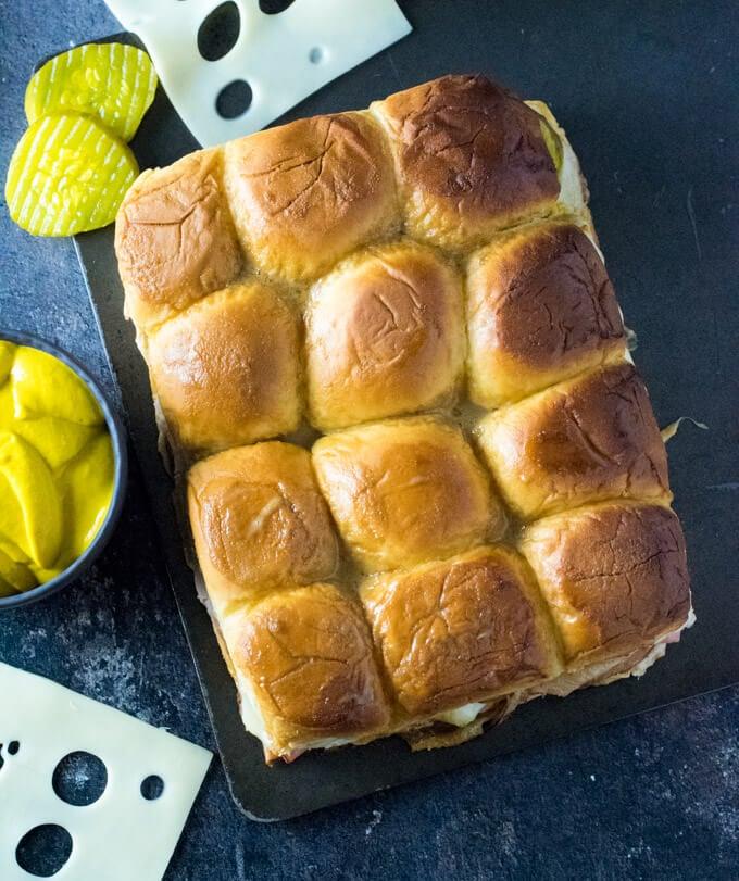 Cuban Sliders bun
