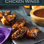 Grilled BBQ Chicken wings recipe with incredible flavor! #grilled #bbq #chicken #grilling