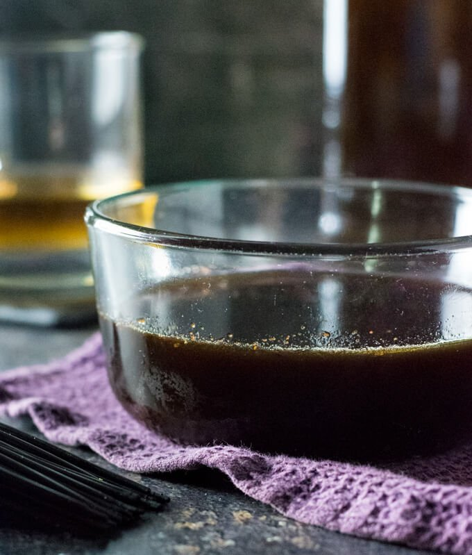Bourbon glaze recipe