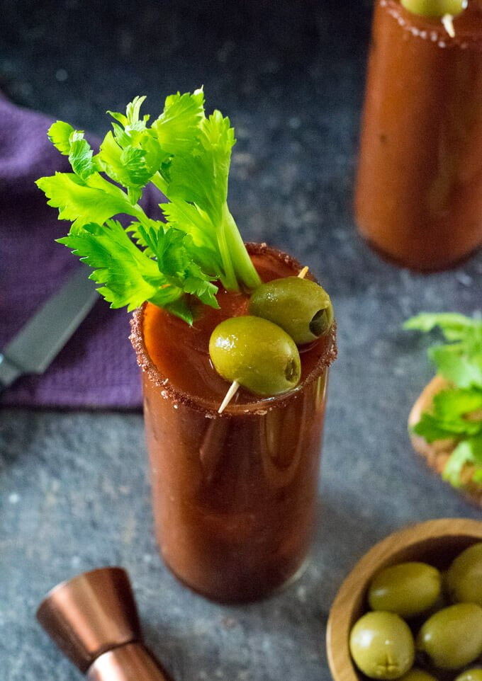 Homemade Bloody Mary Mix