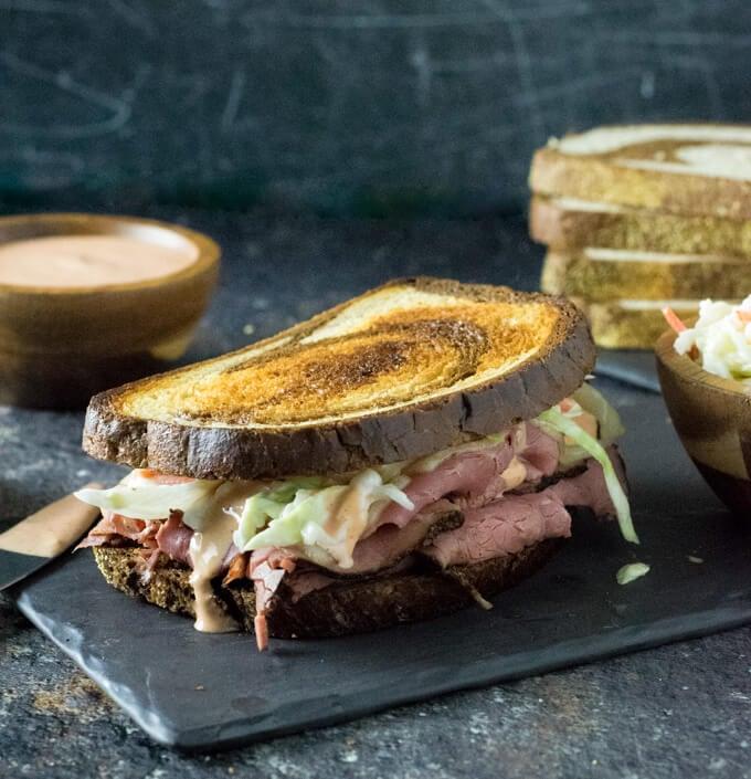 Hot Pastrami Sandwich recipe