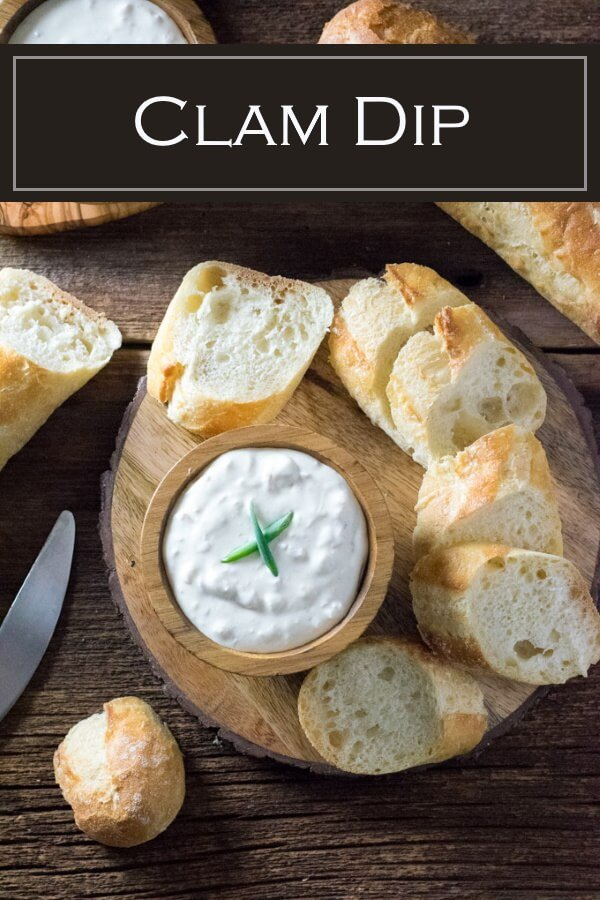 This creamy clam dip is irresistible to any seafood lover! #seafood #party #appetizer