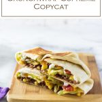 Make Taco Bell at home with this Crunchwrap Supreme recipe. #copycat #mexican #fastfood #chicken