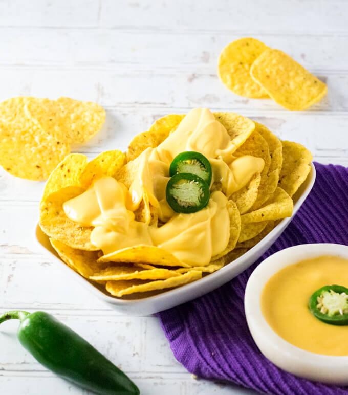 Nacho cheese sauce recipe