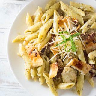 Pesto Alfredo Recipe
