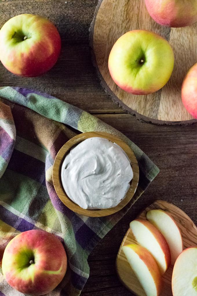 Marshmallow fruit dip