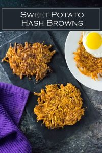 Sweet potato hash browns recipe #breakfast #potato #brunch