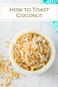How to toast coconut #coconut #recipe #toasted