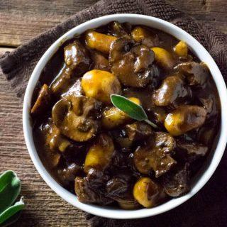 Mushroom and Beef Stew