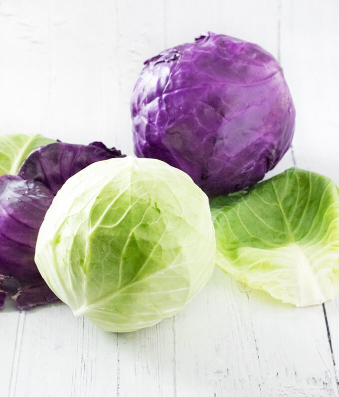 Remove leaves from cabbage