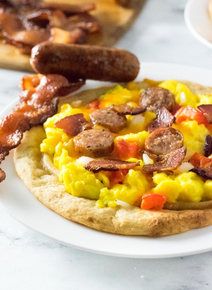 Easy Breakfast Pizza Toppings
