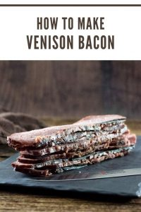 How to make venison bacon #deer #venison #bacon