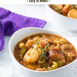 Jambalaya Soup recipe #soup #creole #rice