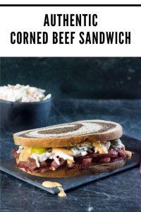 Authentic corned beef sandwich recipe #beef #jewish #irish #sandwich