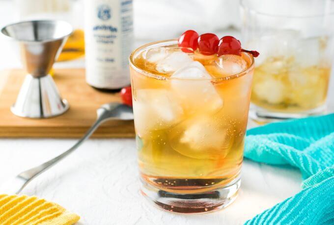 Brandy Old Fashioned recipe