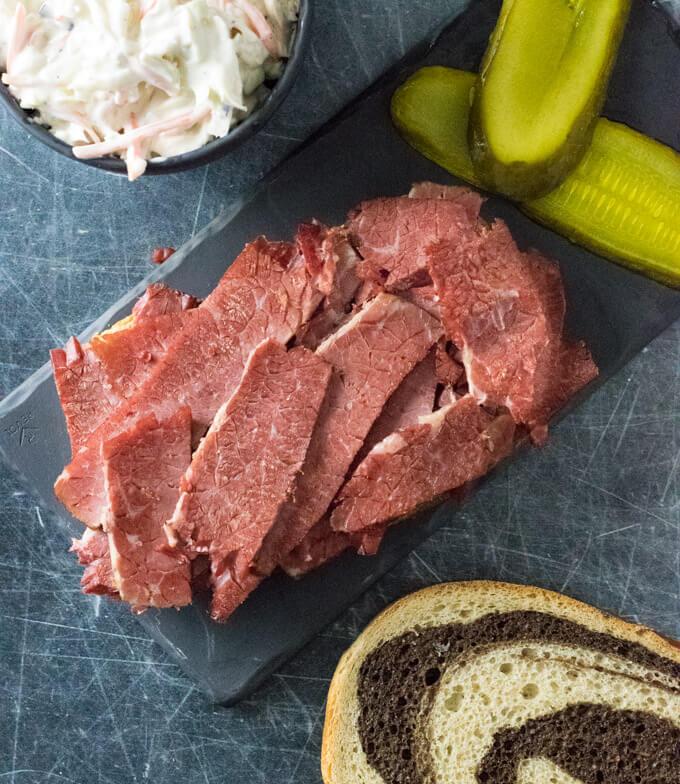 Corned beef sandwich ingredients