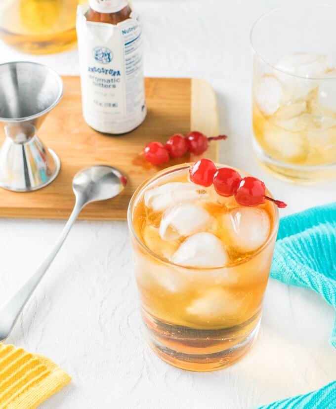 Wisconsin Brandy Old Fashioned Cocktail