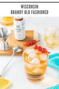 Wisconsin Brandy Old Fashioned recipe #cocktail #brandy #liquor #wisconsin