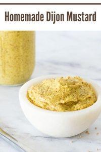 Homemade Dijon Mustard