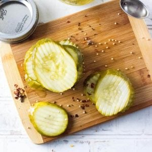 Refrigerator dill pickles recipe