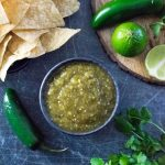 Homemade salsa verde recipe