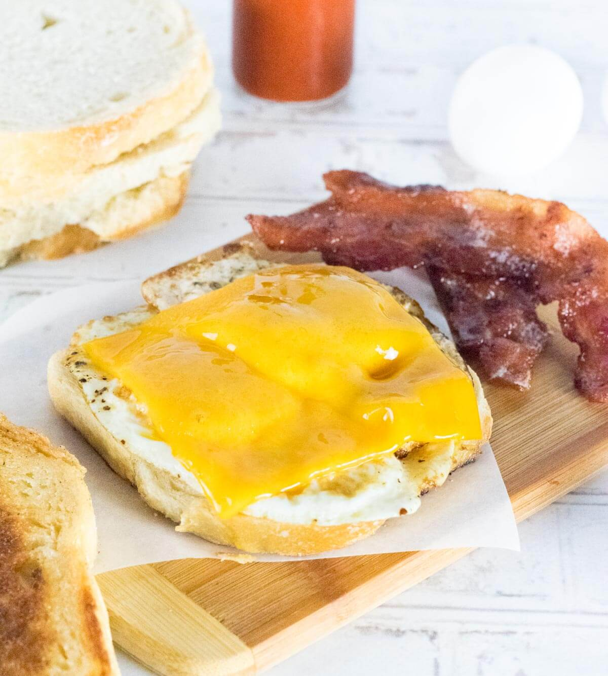 Fried Egg Sandwich toppings