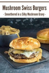 Mushroom Swiss Burger