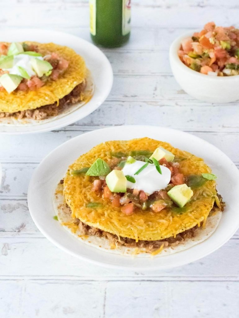 Two Taco Bell copycat Mexican pizzas