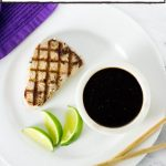 Grilled Tuna with Spicy Ponzu Sauce