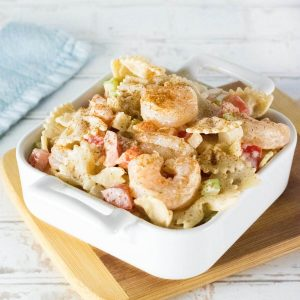 Cajun Shrimp Pasta Salad recipe