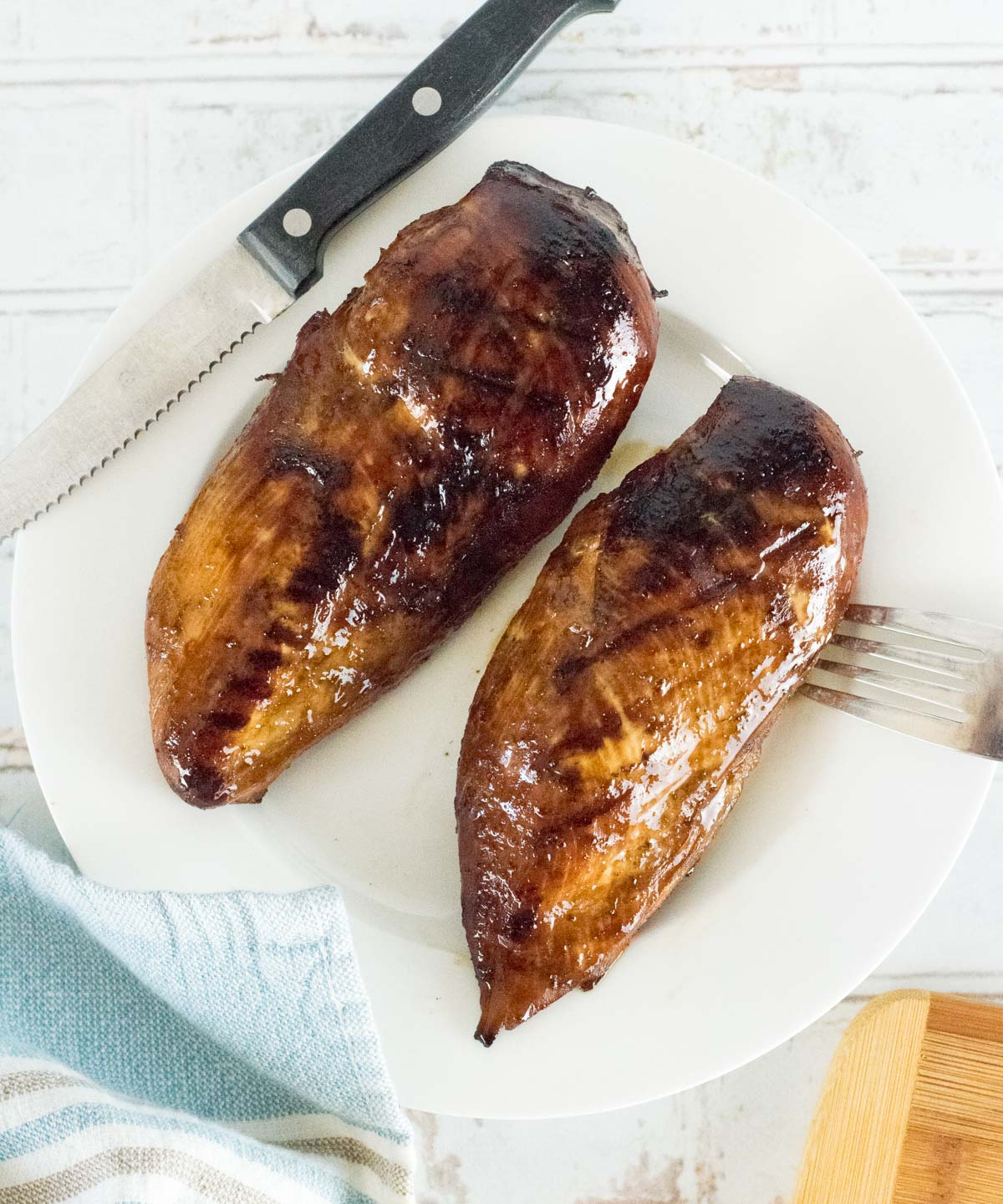 Grilled marinated chicken breast recipe