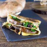 Spinach and Mushroom Quesadillas recipe