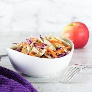 Apple Cider Vinegar Coleslaw recipe