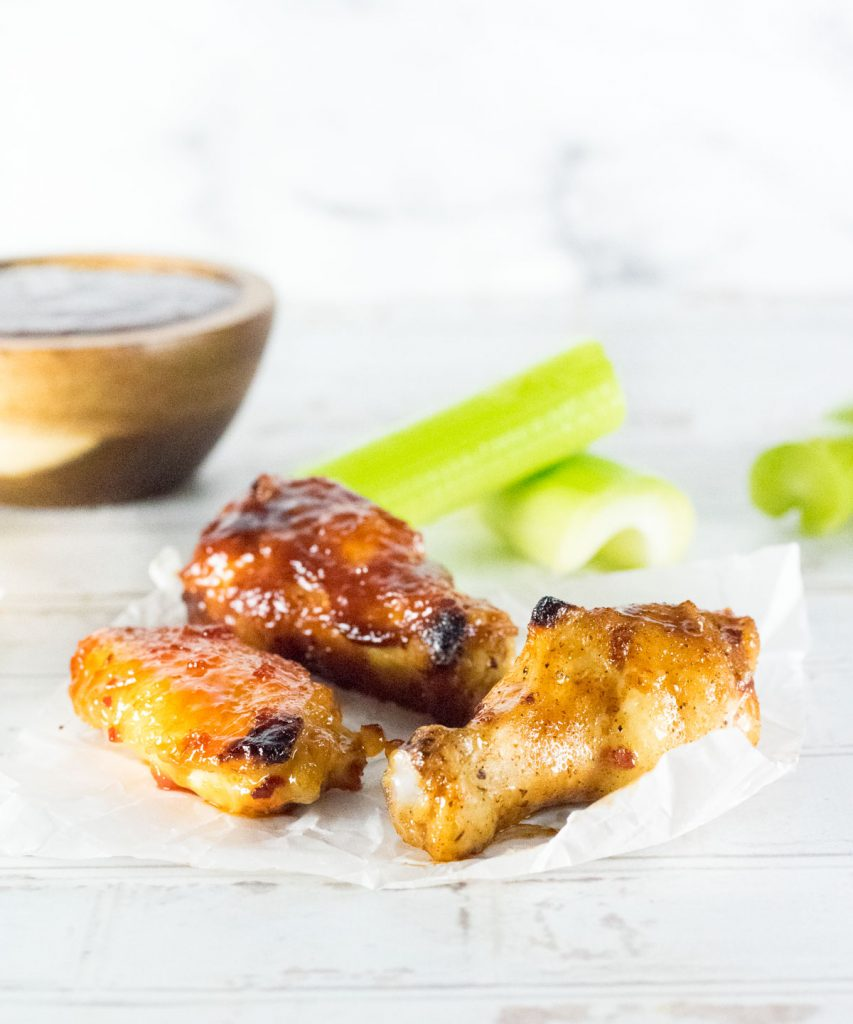 Broiled Chicken Wings