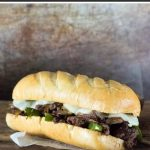 Venison Cheesesteak