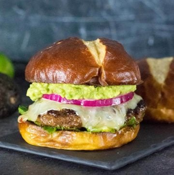 Mexican Chorizo Burger recipe