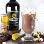 Walnut and Bourbon Hot Chocolate recipe