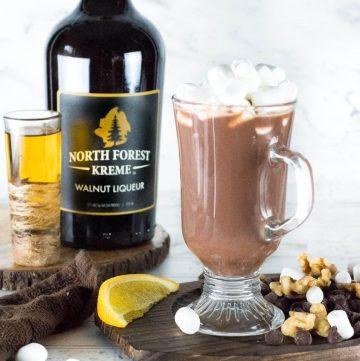 Walnut and Bourbon Hot Chocolate recipe