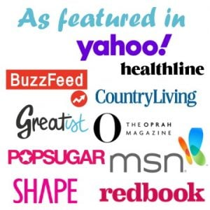 As featured in yahoo, buzzfeed, oprah, msn and more!