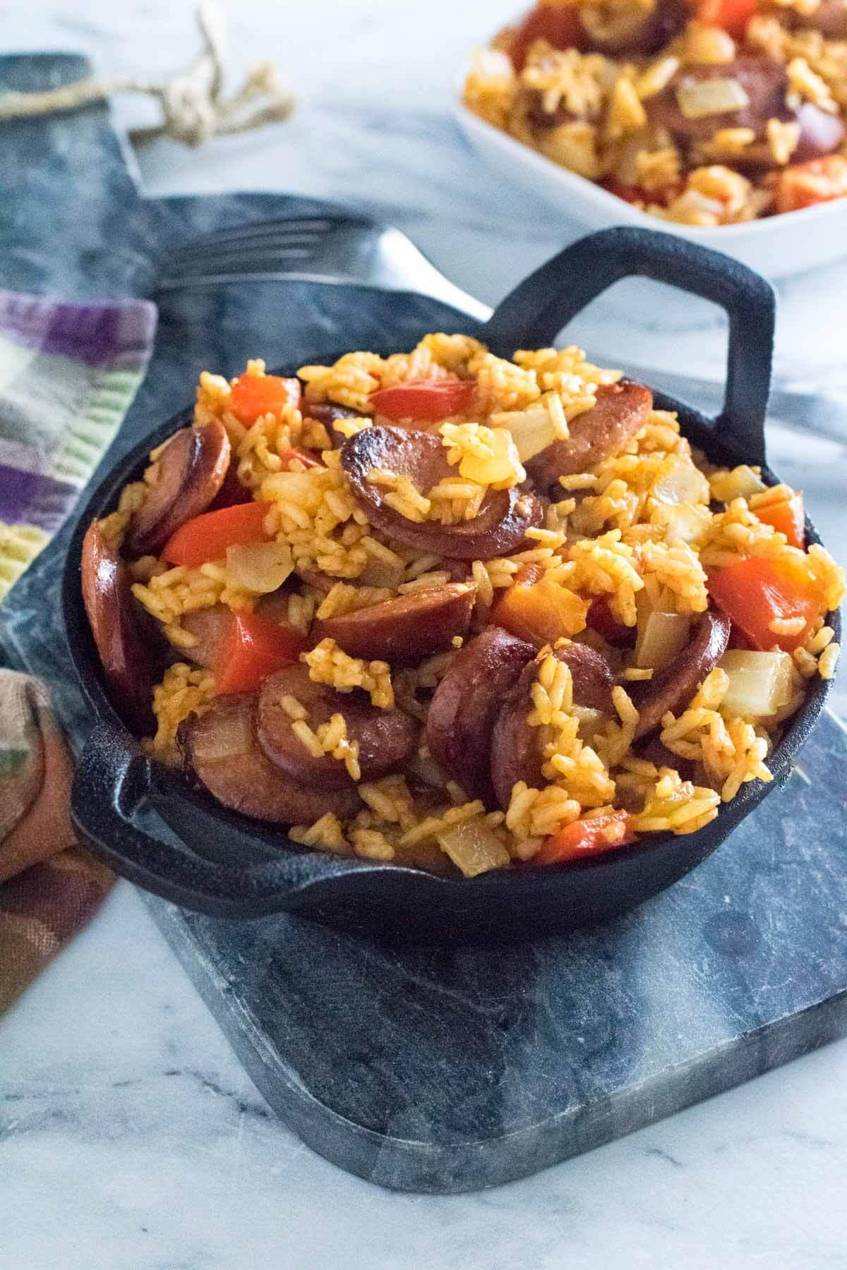 Kielbasa and Rice