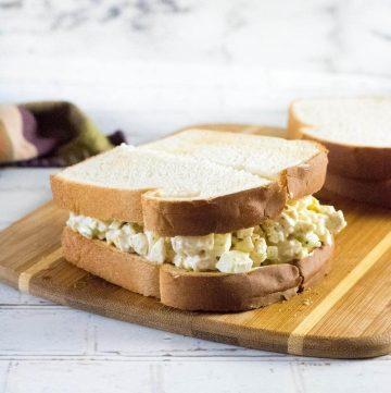 Chicken spread sandwich recipe.