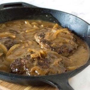 Old fashioned Salisbury Steak recipe.