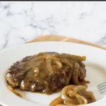 Old fashioned Salisbury steak