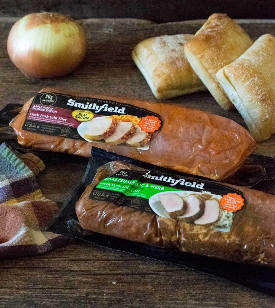 Smithfield pork loin filets.