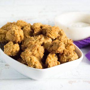 Fried chicken gizzards recipe.