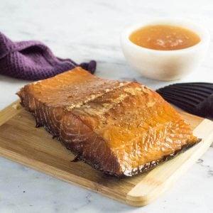 Honey smoked salmon recipe.
