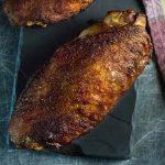 Smoked turkey wings recipe.