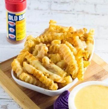 Crab fries recipe.