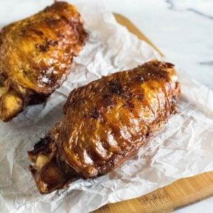 Deep fried turkey wings recipe.