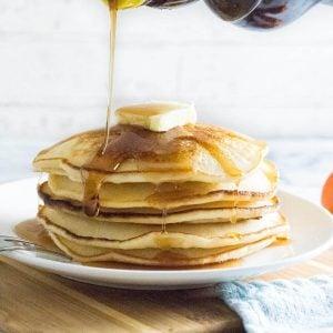 Pancake recipe without eggs.